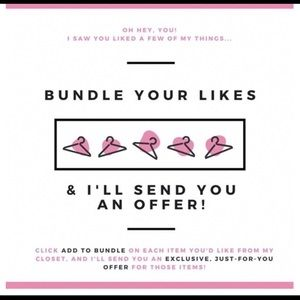 Other - Bundle what you like & I'll make you an offer